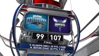 Orlando Magic vs Charlotte Hornets - March 16, 2016