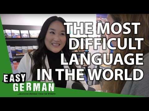 Easy German 117 - The most difficult language in the world