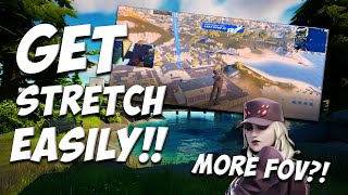How to easily gęt Stretch Resolution in SEASON 8! -Get more FOV (old res tutorial)
