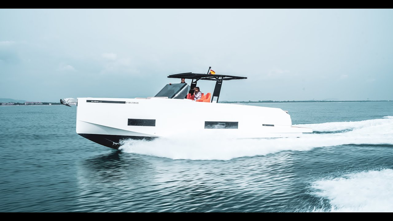 De Antonio Yachts | D42 Open | Where the best design and performance meet