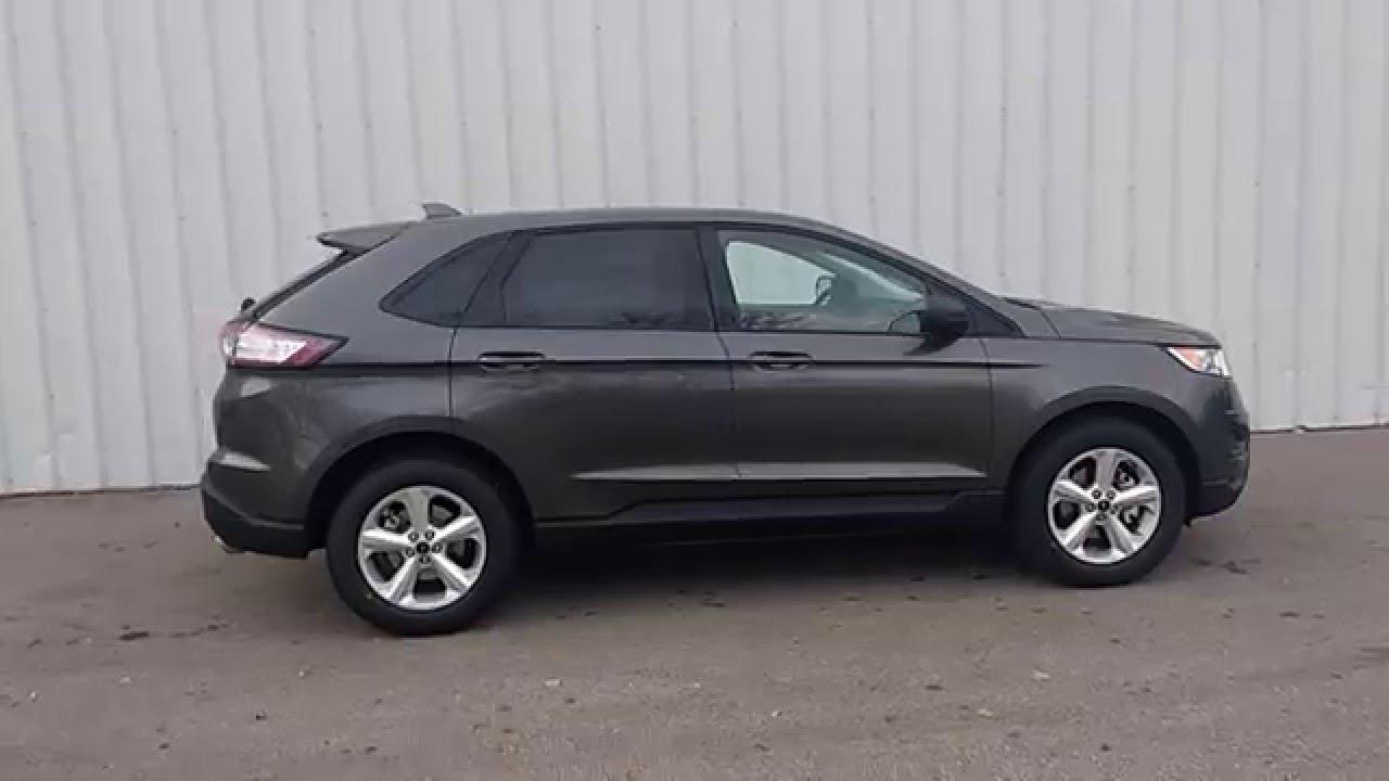 magnetic gray 2015 edge fwd se black cloth 35l v6 t5857 marshall ford - 2015 Ford Edge Titanium Magnetic