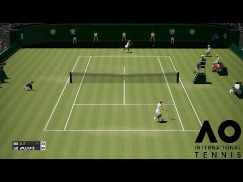Arantxa Rus vs Serena Williams - AO International Tennis - Gameplay