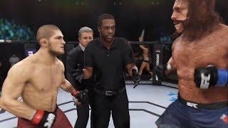 Khabib vs. Bigfoot (EA Sports UFC 3) - CPU vs. CPU