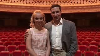 Григорий Антипенко и Татьяна Арнтгольц приглашают на спектакль
