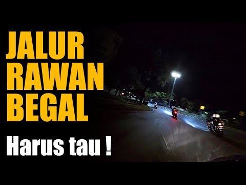 Lewat Jalur Rawan Begal Jakarta - Area 2 Ninja 250 | 120 FPS Guntur WIbowo