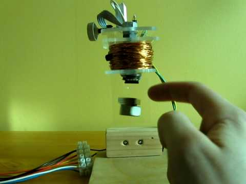 Hall-Effect Sensor Levitator