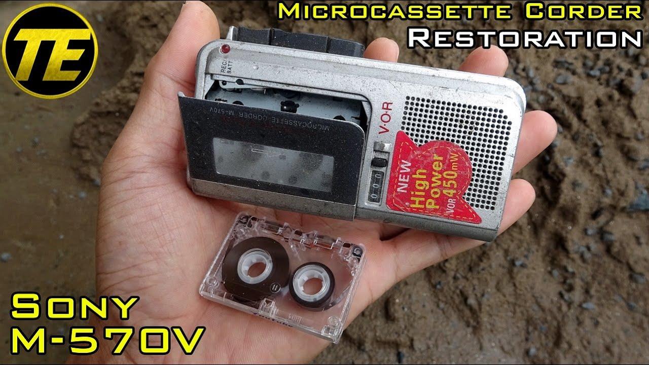 Sony MicroCassette Corder M-570V Restoration
