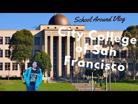 Katelyn Vlog | Around My School | City College Of San Francisco | Ocean Campus CCSF