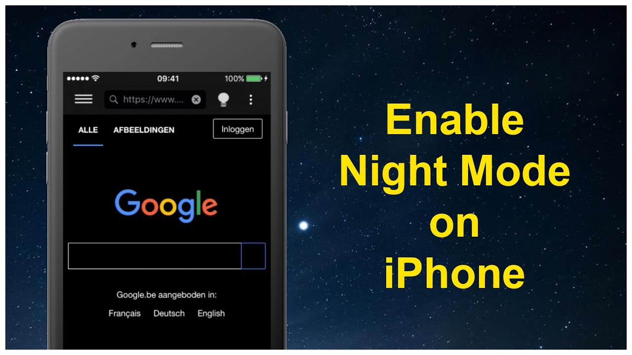 How To Enable The Night Mode On Your Iphone Solution
