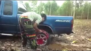 Incredible Invention Truck Stuck In Mud