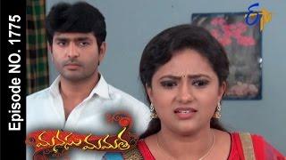 Manasu Mamata | 30th  September 2016 | Full Episode No 1775 | ETV Telugu