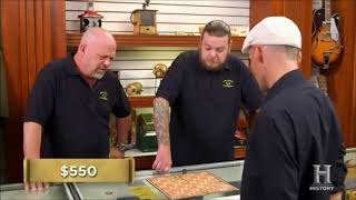 Nate Having the Time of His Life on Pawn Stars