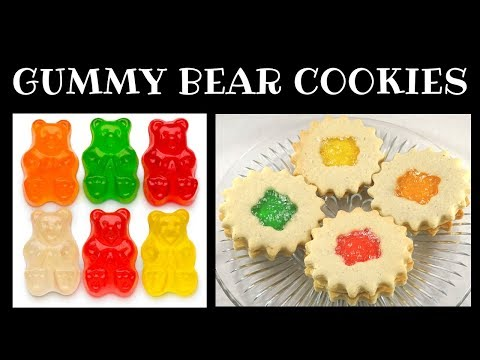 Peak Frean Fruit Creme Style  Cookies Made With Gummy Bears!