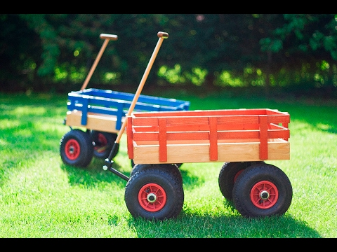 DIY Beach Wagon, kiskocsi