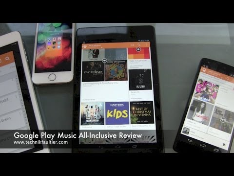 Google Play Music All-Inclusive Review