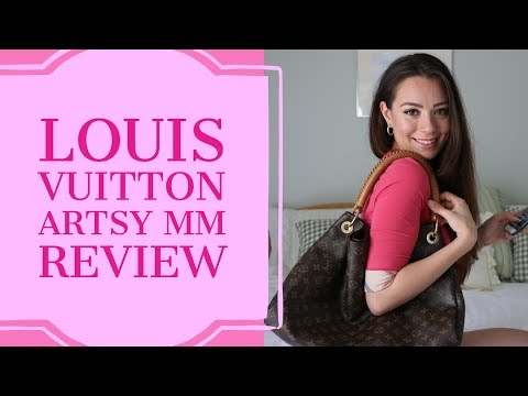 f9a8b9769ff08 LOUIS VUITTON ARTSY MM - YouTube