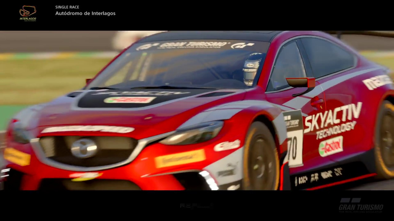 gt sport mission challenge interlagos sprint race ps4 pro youtube. Black Bedroom Furniture Sets. Home Design Ideas