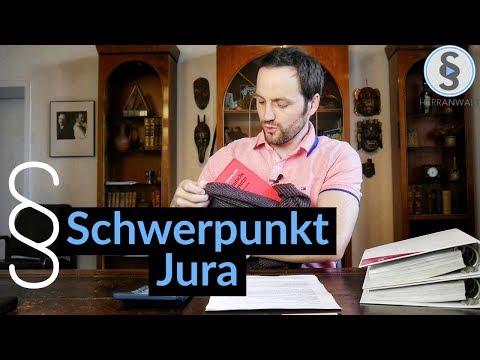 Schwerpunkt Jura - 9 Tipps zum Schwerpunktbereich im Jurastudium | Herr Anwalt