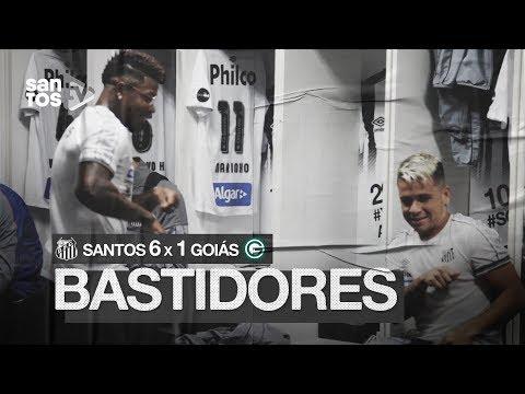 SANTOS 6 X 1 GOIÁS | BASTIDORES | BRASILEIRÃO (04/08/19)