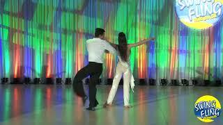 Swing Fling 2018 Superstar Show Hugo Miguez & Stacy Kay