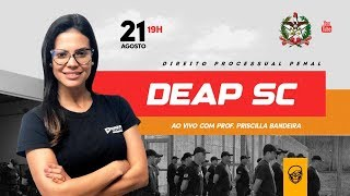 R.B - Carreiras Policiais - Prof. Priscilla Bandeira I Processo Penal para DEAP-SC