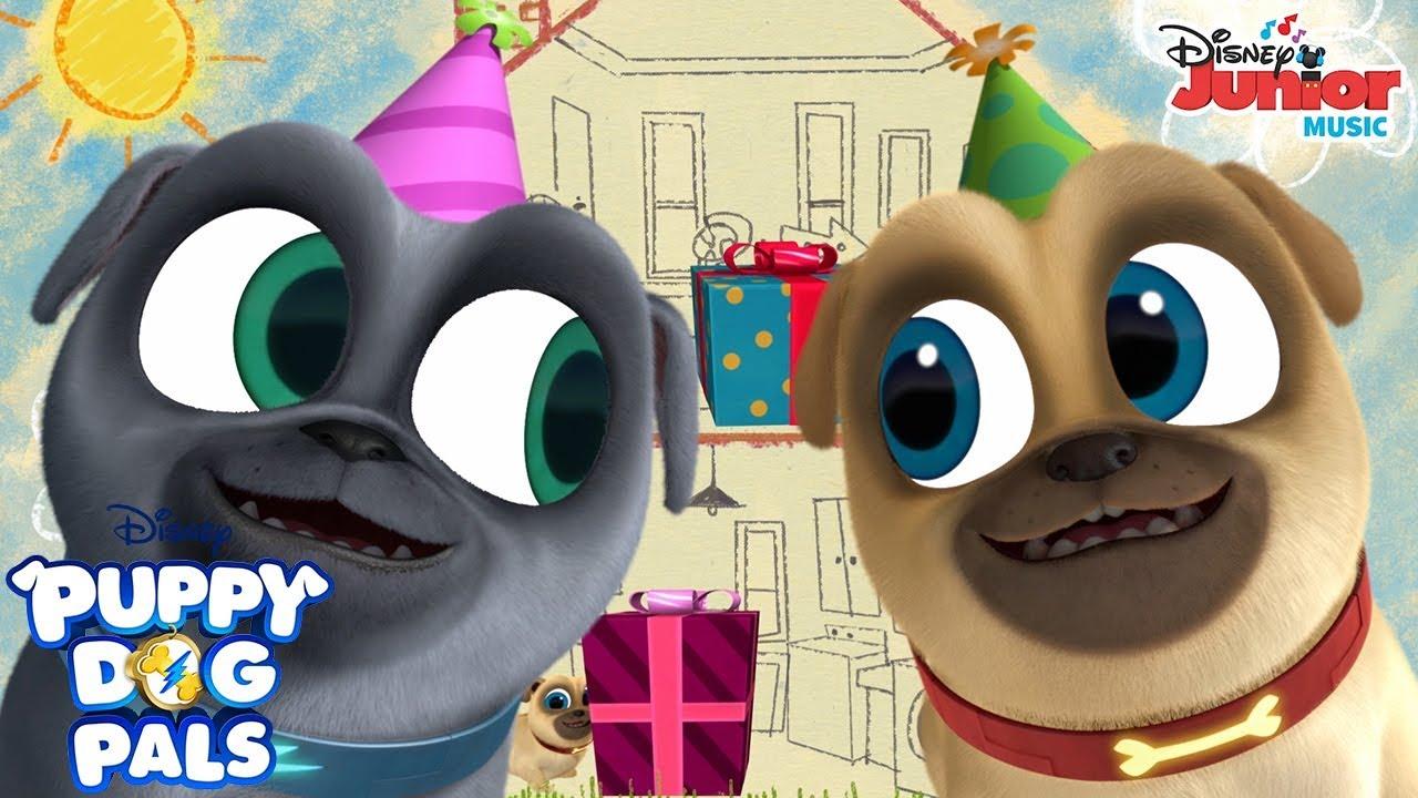 Birthdays Are The Best Music Video Puppy Dog Pals Disney Junior Youtube