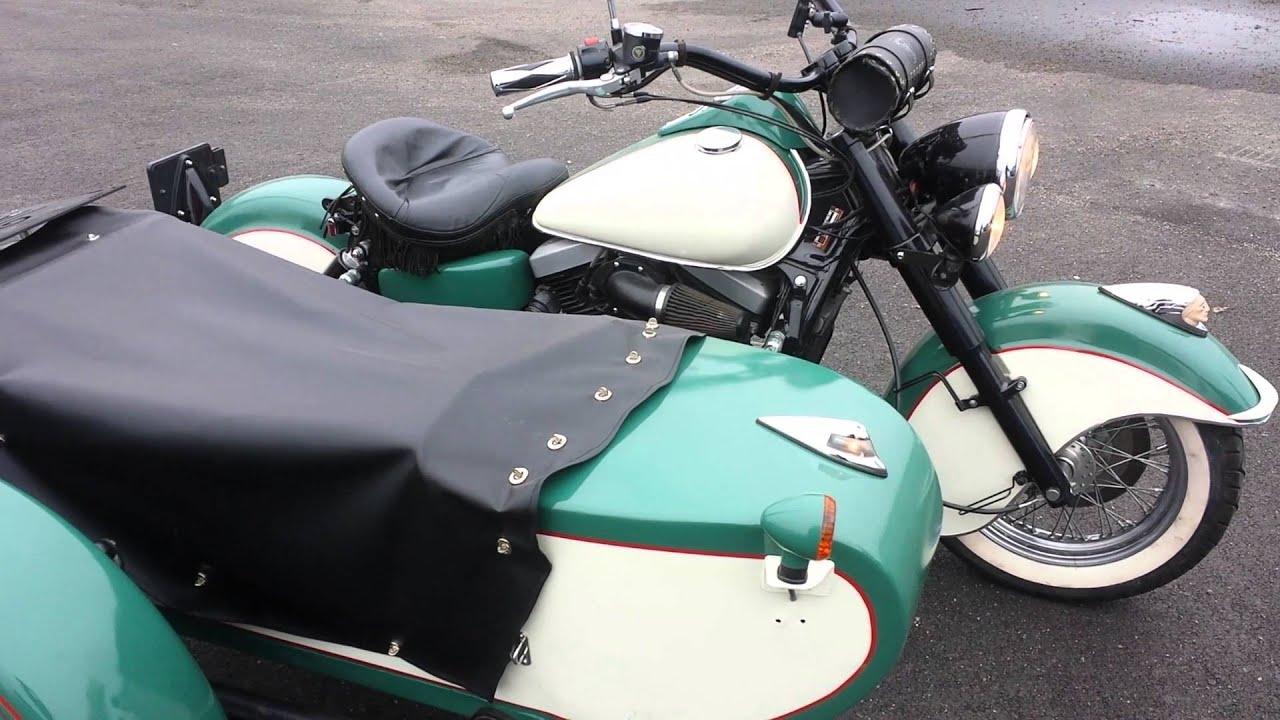1999 Kawasaki 1500 Drifter with a sidecar