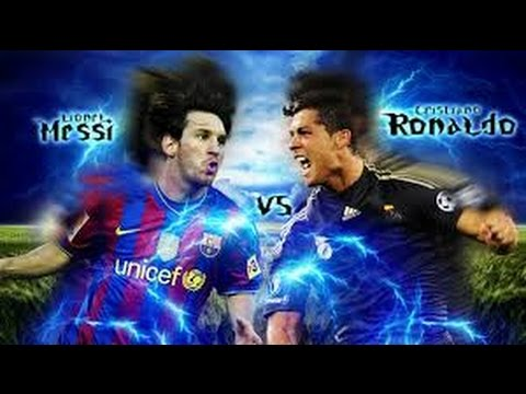 Messi vs Ronaldo -Soccer players-tough competition between ...