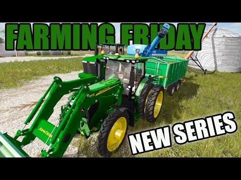 FARMING FRIDAY | IOWA MAP | NEW SERIES!!! | FARMING SIMULATOR 2017