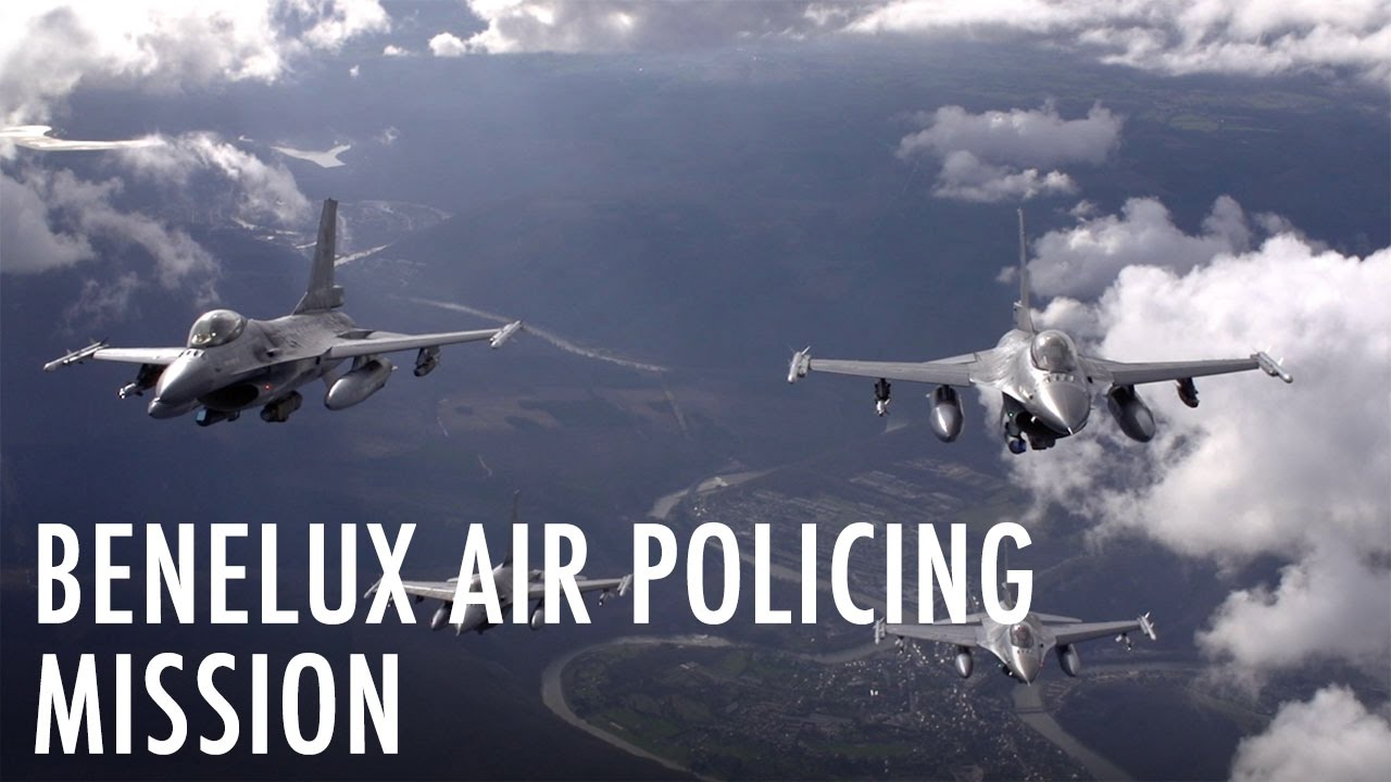 Belgian fighter pilots tested for real in Benelux air policing mission