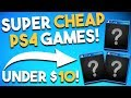 10 GREAT and SUPER CHEAP PS4 Games Under $10 (Playstation 4 Game Deals $10 or Less RIGHT NOW)