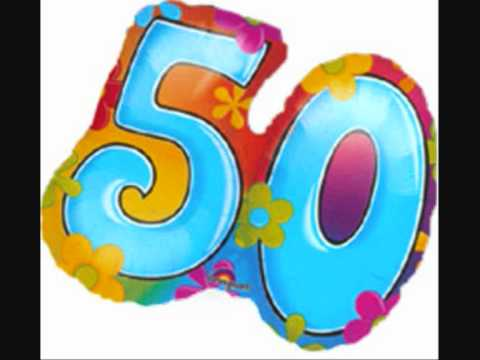 Geburtstagslied Zum 50