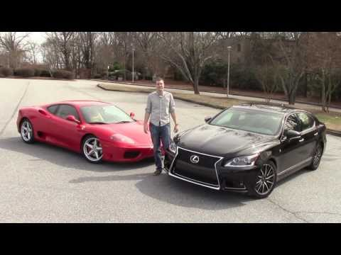 Would You Rather: Ferrari 360 Modena vs. Lexus LS460