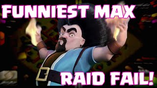 Clash Of Clans MAXED TROOPS FAIL | Funniest Townhall 10 Troll Defense VS Maxed Out Army
