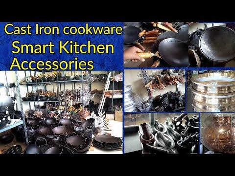 தரமான இரும்பு பாத்திரங்கள் in Nagercoil/Iron & Cast Iron cookware shopping vlog in Tamil