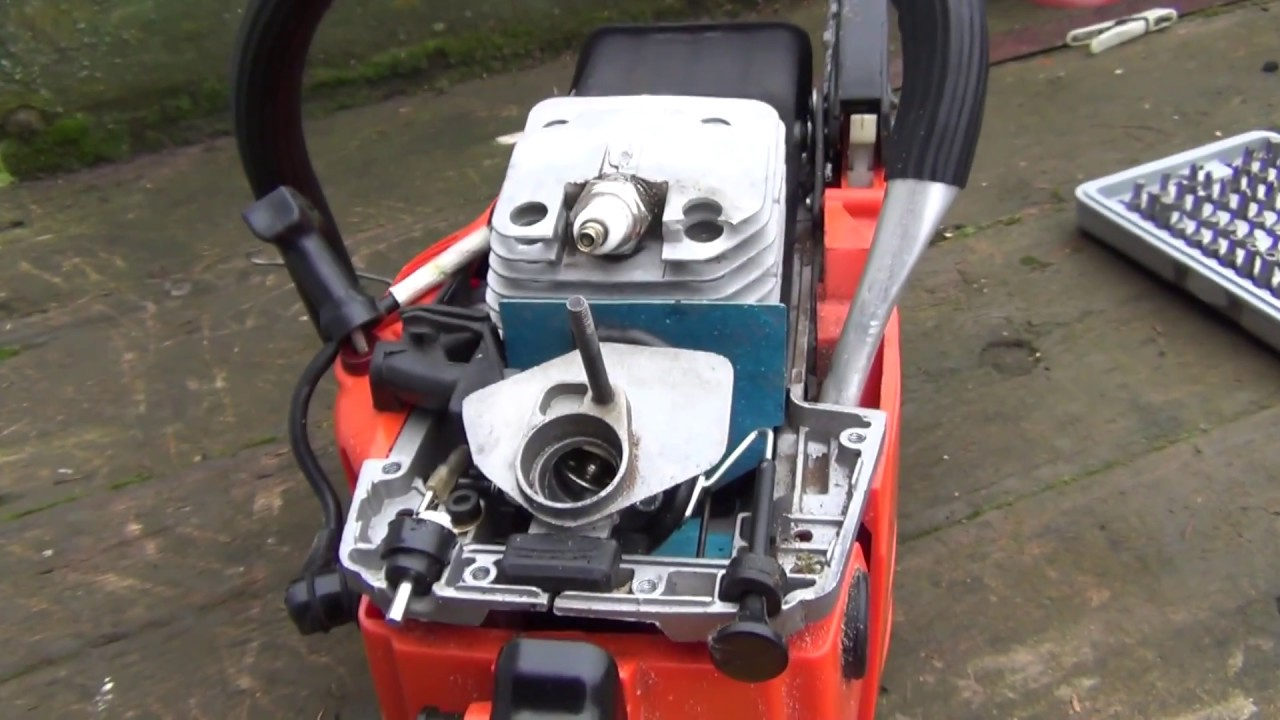 My Chinese chainsaw has conked out  - YouTube