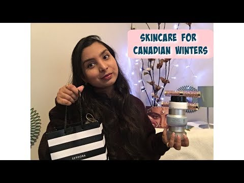 Skincare For Canadian Winters| Giveaway | Canada Vlogs