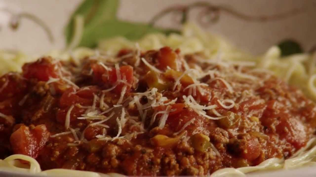 Beef Recipes - How to Make Spaghetti Sauce with Ground Beef - YouTube