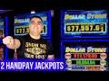 2 HANDPAY JACKPOTS On High Limit Dollar Storm | Las Vegas Casino JACKPOTS | SE-1 | EP-14