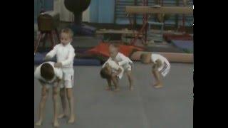 20.12.2015. Спортивная гимнастика. Чернигов. Открытое занятие. Часть 3.