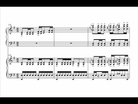 Pirates of the Caribbean Medley for Two Pianos Audio + Sheet Music