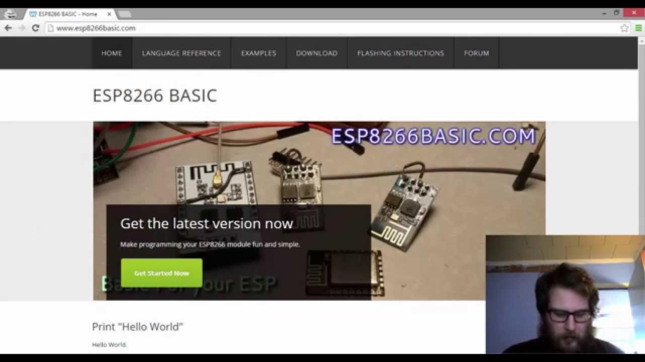 ESP8266 BASIC - ESP BASIC