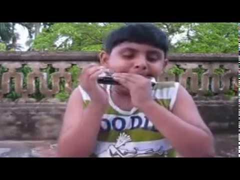 E Tumi Kemon Tumi - Jatishwar (Harmonica...