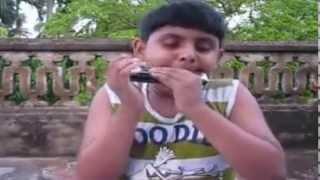 Download E Tumi Kemon Tumi - Jatishwar (Harmonica By Shubhranill Sarkar) MP3 song and Music Video