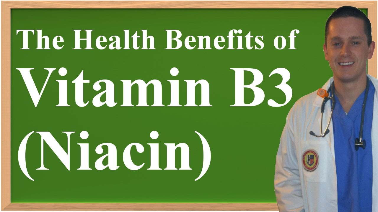 What are the health advantages of niacin