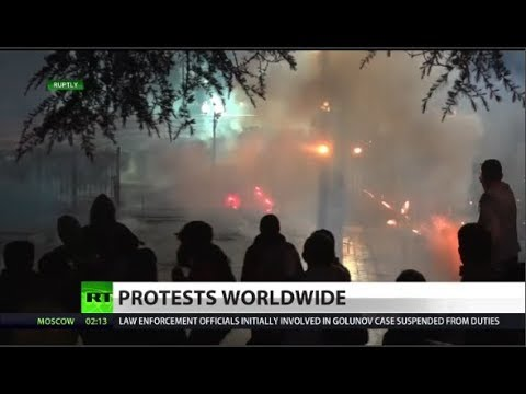 Protests erupting worldwide: What's it mean?