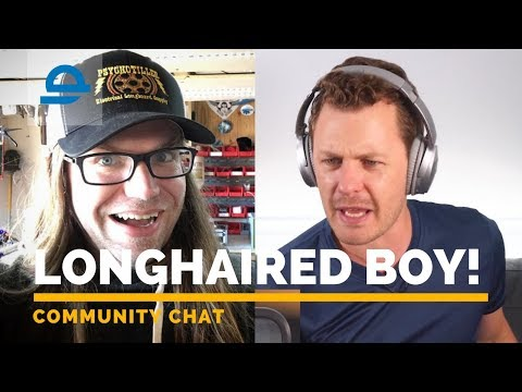COMMUNITY CHAT ft LONG HAIRED BOY! | Enertion