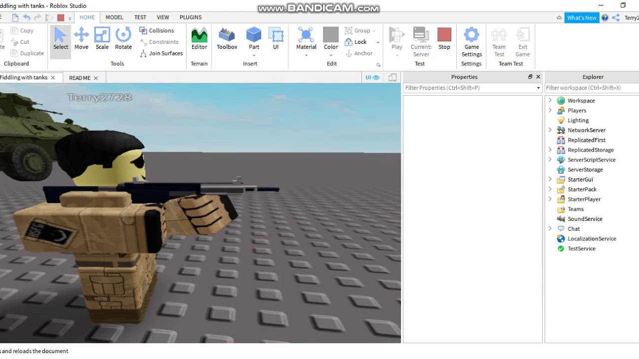 Roblox Assault Team M1a1 Abrams Roblox Roblox Studio How To Acquire The Vanguard Weapon System Gunkit In Your Game Part 2 Youtube