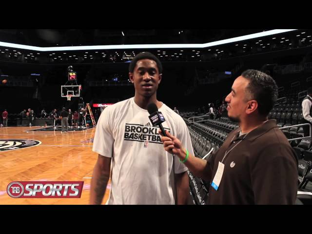 KEEZ ON THE COURT WITH BROOKLYN NETS GUARD MARSHON BROOKS Travel Video