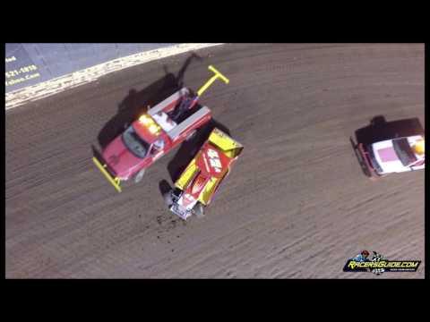 New Egypt Speedway 9/3/16 Sportsman & TSRS Sprint Car Highlights